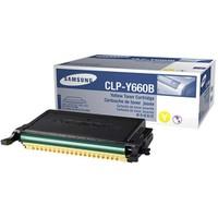 Samsung CLP-Y660B 5000 Sayfa Kapasiteli Sarı Toner