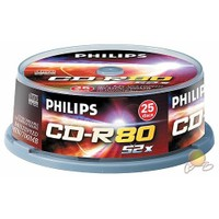 Philips 700MB 80DK 52X 25'Lİ Cakebox CD-R - CR7D5NB25-00