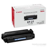 Canon EP-27 2500 Sayfa Kapasiteli Siyah Toner