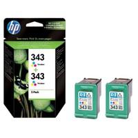 HP 343 TRI Color Mürekkep Kartuş - 2' li EKO Paket CB332E / CB332EE