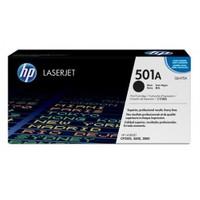 HP 501A 6000 Sayfa Kapasiteli Siyah Toner Q6470A