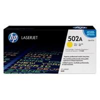 HP 502A 4000 Sayfa Kapasiteli Sarı Toner Q6472A