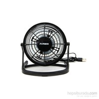 Mack MCF-10 BK Masaüstü Plastik USB Mini Fan Siyah
