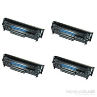 Retech Canon Laser Fax L140 Fax Toner Muadil Yazıcı Kartuş 4 Lü Ekonomik Paket