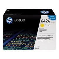 HP 642A 7500 Sayfa Kapasiteli Sarı Toner CB402A