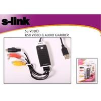 S-Link SL-VD203 Usb Video & Audio Grabber Çevirici ve Adaptör