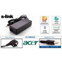 S-Link SL-NBA25 (Acer) 19V3.42A 5.5*1.75 Notebook Adaptör