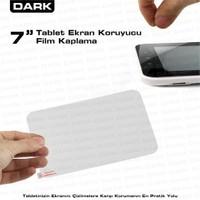 """Dark 7"""" Tablet Uyumlu Şeffaf Ekran Koruyucu Film"""