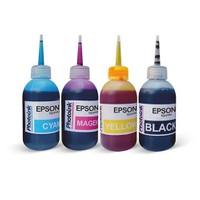 Photo Ink Epson Durabrite Serisi Yazıcılar İçin Uyumlu 4X100 Ml Mürekkep Seti