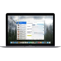 """Apple Mf865tu-A Apple Macbook 12"""" Dc Intel M 1.2Ghz 8Gb 512Gb Flash Hdg Gümüş"""