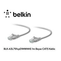 Belkin Blk-A3l791cp01mwhhs 1M Beyaz Cat5 Kablo