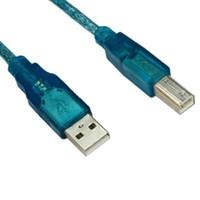 Vcom Cu201-Tl 1.5Mt 2.0 Usb Yazıcı Kablosu Mavi
