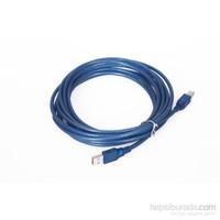 Vcom Cu201-Tl 1.8Mt 2.0 Usb Yazıcı Kablosu Mavi