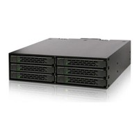 Icy Dock ToughArmor 2.5 inç x 6 Yuva 5.25 inç Çevirici Disk Kızağı (MB996SP-6SB)