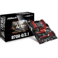 Asrock 970A-G/3.1 AMD 970 AM3+DDR3 SATA3 USB3.1 Anakart(ASR970A-G31)