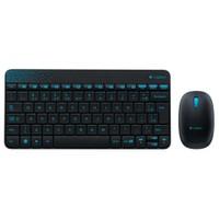 Logitech MK240 Wireless Combo Siyah Klavye Mouse Set (920-005789)