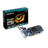 Gigabyte Nvidia GeForce 210 1GB 64Bit DDR3 (DX10.1) PCI-E 2.0 Ekran Kartı (GV-N210D3-1GI)