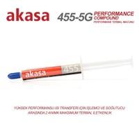 Akasa 455-5G Yüksek Performanslı Silikon Tabanlı 5gr Termal Macun (AK-455-5G)