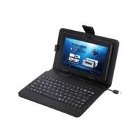 Everest Kb-Tab07 Siyah 7` Mini Usb Türkçe Q Klavye + Tablet Pc Kılıfı