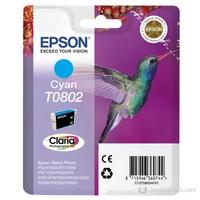 Epson C13T08024021 / T0802 Mavi Mürekkep Kartuş