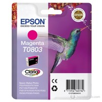 Epson C13T08034021 / T0803 Kırmızı Mürekkep Kartuş