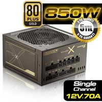 Seasonic X-850 80Plus GOLD 850W Single Rail 12cm Fanlı Power Supply (SEA-X-850)