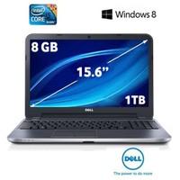 "Dell Inspiron 5521 Intel Core i5 3337U 1.8GHz / 2.7GHz 8GB 1TB 15.6"" Taşınabilir Bilgisayar G33W81C"