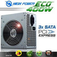 High Power ECO 400W Aktif PFC Yüksek Verimli Power Supply (HPE-400-A12S)