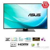 "Asus PB328Q 32"" 4ms (Analog+DVI-D+HDMI+Display) WQHD VA Monitör"