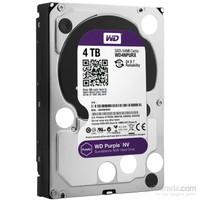 """WD Purple NV 4TB Intellipower Sata 3.0 64MB 3.5"""" Güvenlik Diski 7x24 WD4NPURX"""
