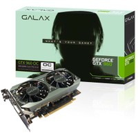 Galax Nvidia GeForce GTX 960 OC 2GB 128Bit GDDR5 (DX12) PCI-E 3.0 Ekran Kartı (96NPH8DND8VZ)