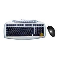 A4 Tech KB-21620D PS/2 Q-Tr Multimedya Klavye + Mouse Seti