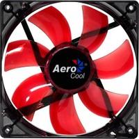 "Aerocool ""Lightning"" 12cm Kırmızı Ledli Sessiz Kasa Fanı (AE-CFLG120RD)"