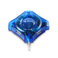 S-link SL-1002/2.0 4 Port Usb 2.0 Yıldız Usb Hub (4929)
