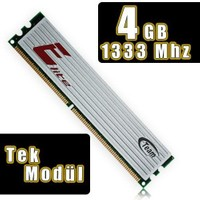 Team Elite 4GB DDR3 1333MHz Ultra Low Voltage Tek Modül Ram – TM3E13334G