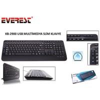 Everest KB-2900 Siyah USB Multi media Q Klavye
