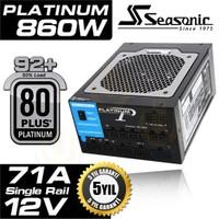 Seasonic Platinum Serisi 860Watt 80+ Plus Platinum Sertifikalı Modüler Güç Kaynağı (SEA-P860)