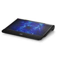Deep Cool N6000 200x20mm Ayarlana Bilir Mavi Ledli Fan 2 USB Port Notebook Stand ve Soğutucu