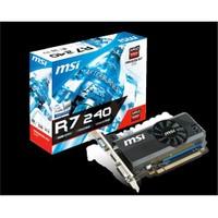 MSI AMD Radeon R7 240 2GD3 LPV2 2GB 128 bit DDR3 DX(12) PCI-E 3.0 Ekran Kartı (R7 240 2GD3 LPV2)