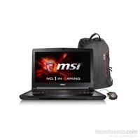 "MSI GS40 6QE(Phantom)-075TR Intel Core i7 6700HQ 16GB 1TB + 128 SSD GTX970M Windows 10 Home 14"" FHD Taşınabilir Bilgisayar"