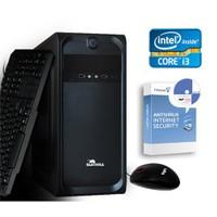 CaseBull PCI3141VG Intel Core i3 350M 2.26GHz 4GB 1TB Masaüstü Bilgisayar + Antivirüs Hediye