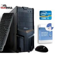CaseBull PCI318OB Intel Core i3 350M 2.26GHz 8GB 1TB Masaüstü Bilgisayar + Antivirüs Hediye