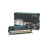 Lexmark C734a1cg Lexmark C73x X73x Mavı 6.000 Sayfa Return Toner