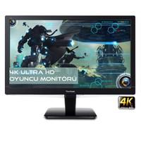 """Viewsonic VX2475SMHL-4K 23.6"""" 2ms (2xHDMI+MHL+Display) 4K Ultra HD PLS Monitör"""