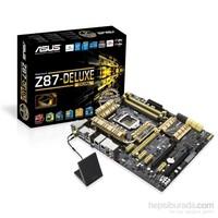 Asus Z87-DELUXE/DUAL Intel Z87 3000MHz(OC) DDR3 LGA1150 ATX Anakart