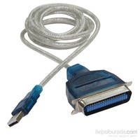 Flaxes FCK-UIE1284 USB 2.0 - IE1284 LPT Çevirici 1,5 M WİN7/8 Uyumlu