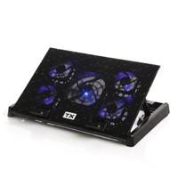 "TX Ergo500 5x FAN'lı, 6x Yükseklik Ayarlı,2x USB HUB'lı, 11""-17"" Notebook Soğutucu ve Stand (TXACN"