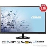 "Asus VX279H 27"" 5ms (Analog+2xHDMI/MHL) Full HD IPS Led Monitör"