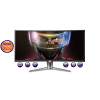 "BenQ XR3501 35"" 4ms 144Hz (2xHDMI+Display+mDisplay) AMVA Curved Oyuncu Monitör"