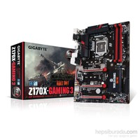 Gigabyte G1 Gaming GA-Z170X-Gaming 3 Intel Z170 Express 3466MHz(OC) DDR4 Soket 1151 ATX Anakart